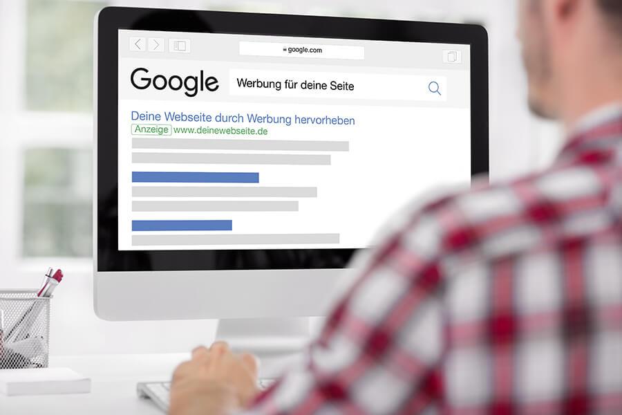 Online Werbung mit Google AdWords