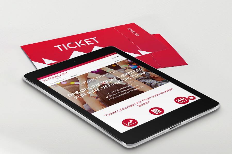 Tickets online verkaufen