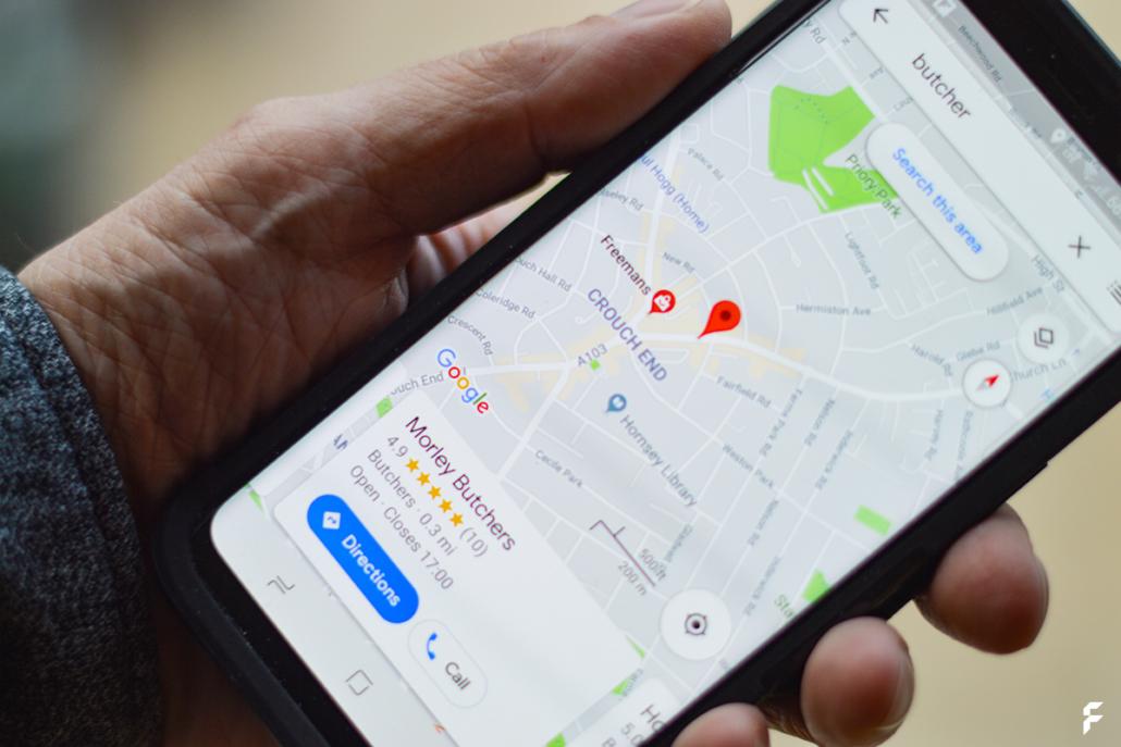Unternehmen bei Google Maps eintragen