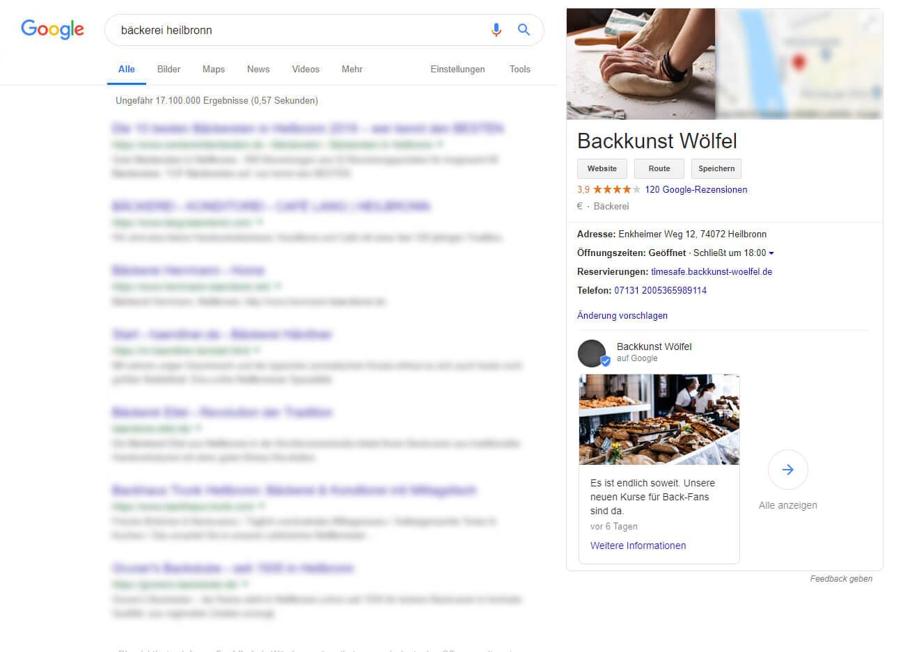 Veranstaltung online effektiv bewerben mit Google My Business