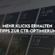 CTR optimieren in Google Ads