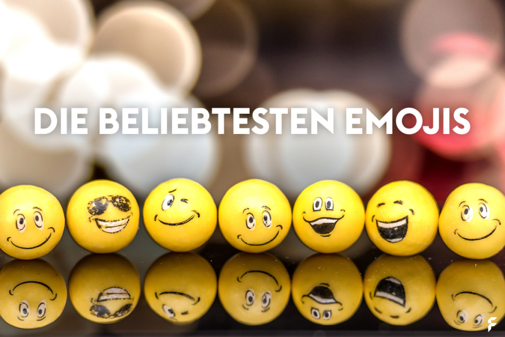 Die beliebtesten Emojis aller Zeiten