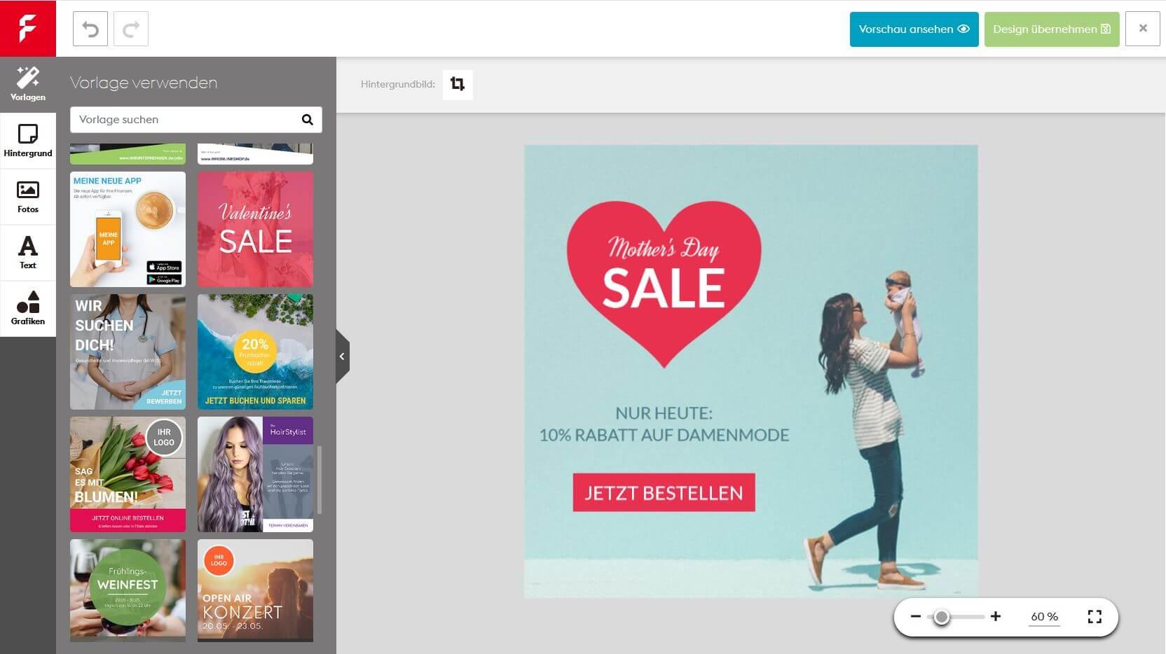 Online Editor: Ganz einfach Grafiken online gestalten
