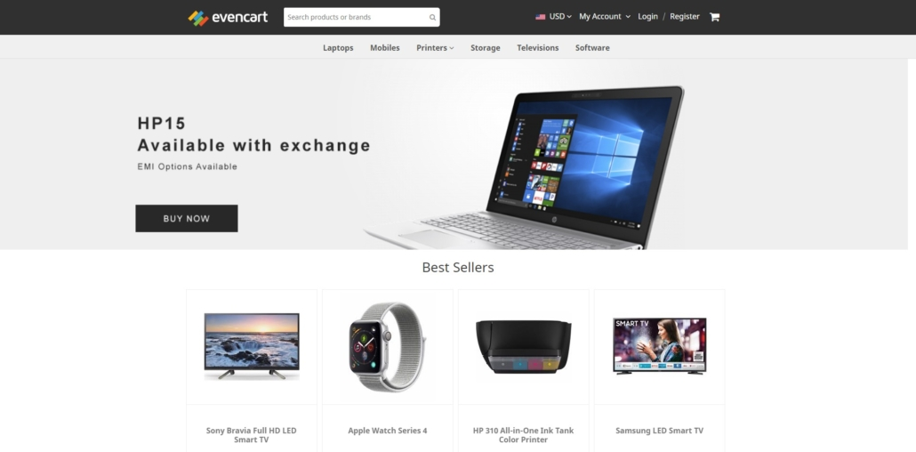 EvenCart Open-Source Headless eCommerce