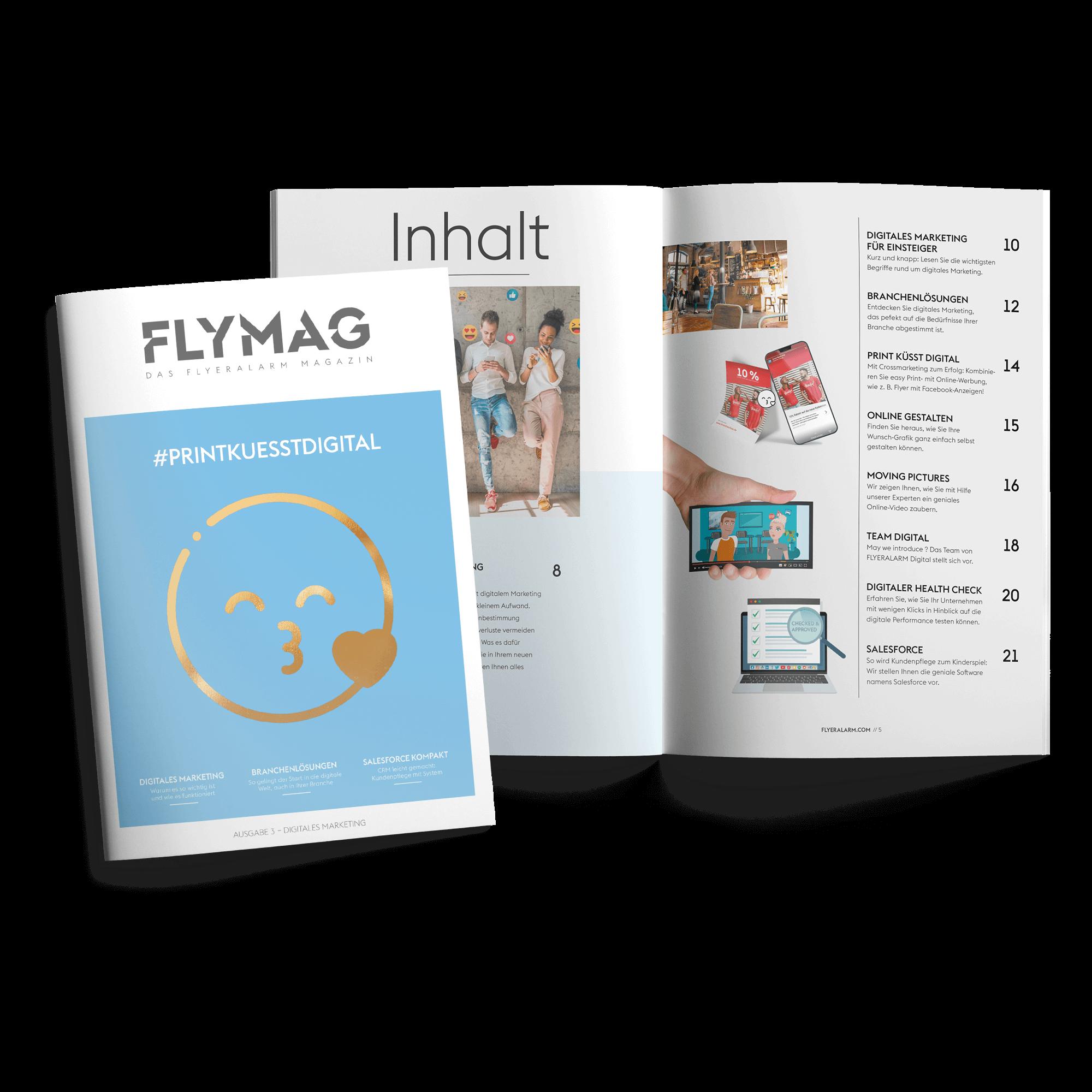 FLYMAG - Das FLYERALARM Magazin - Ausgabe 3 #PRINTKUESSTDIGITAL