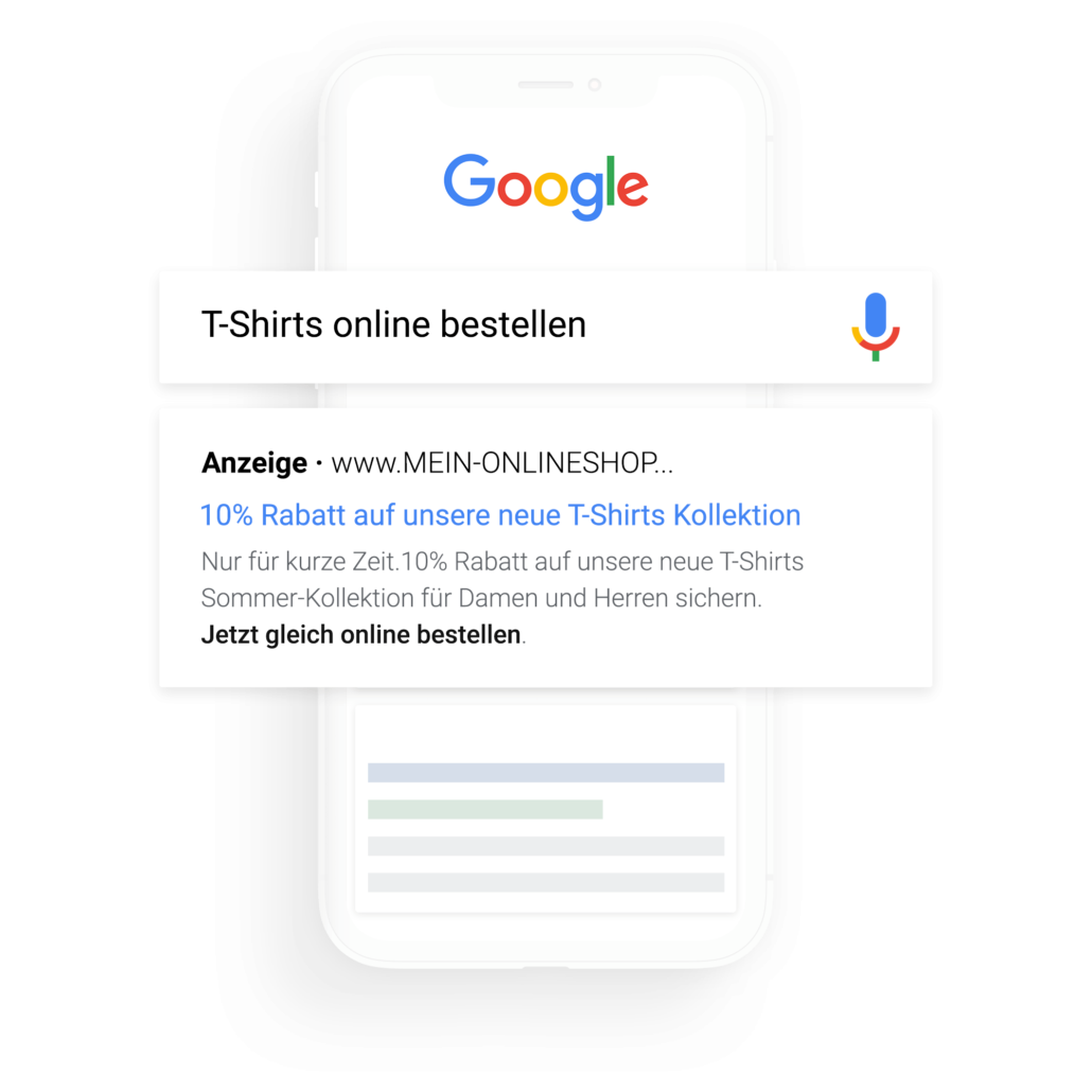 Google Search Ads bei FLYERALARM Digital schalten