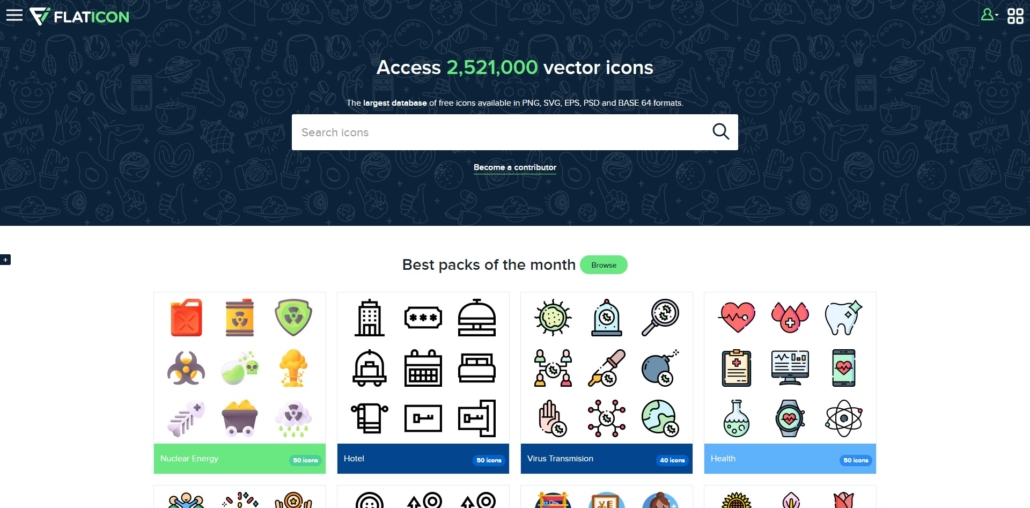 FLATICON - Kostenlose SVG, EPS, PSD & Icon-Fonts