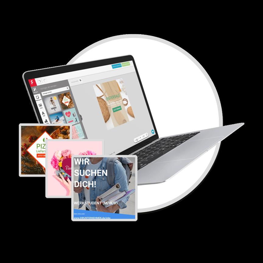 FLYERALARM Digital Online Designer
