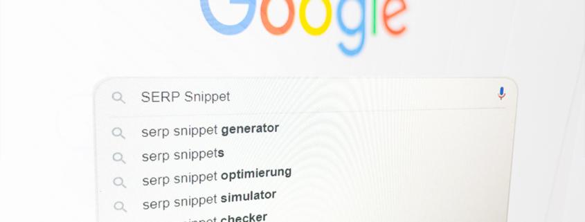 Google SERP Snippet optimieren