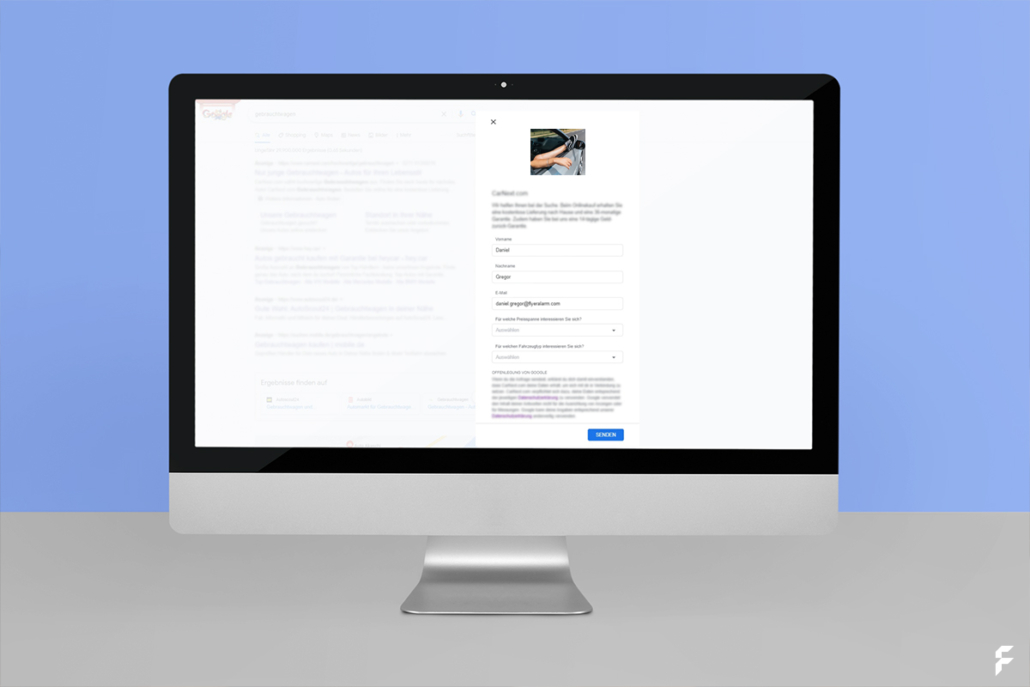 Google Lead-Formularerweiterungen