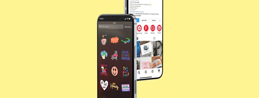 Eigener GIF-Sticker in Instagram erstellen