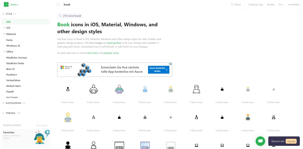 Kostenlose Icons von Icons8