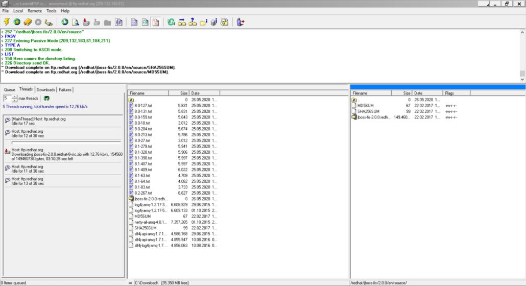 LeechFTP für Windows