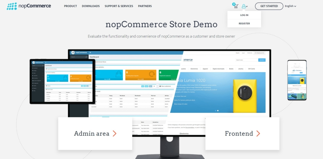 nopCommerce Store Demo