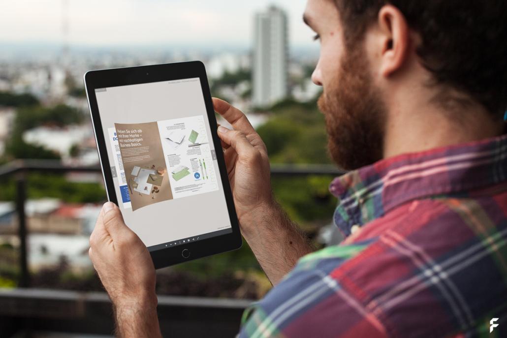 screenpaper: PDF zum Blättern erstellen