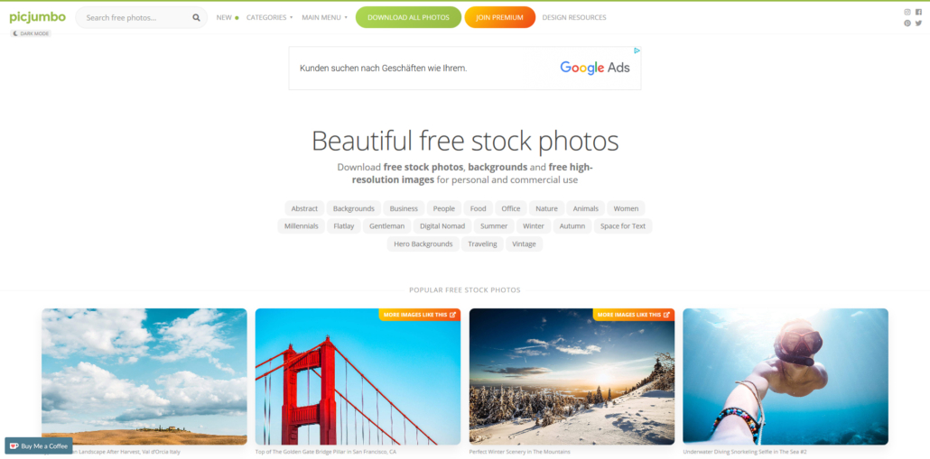 picjumbo beautiful photos