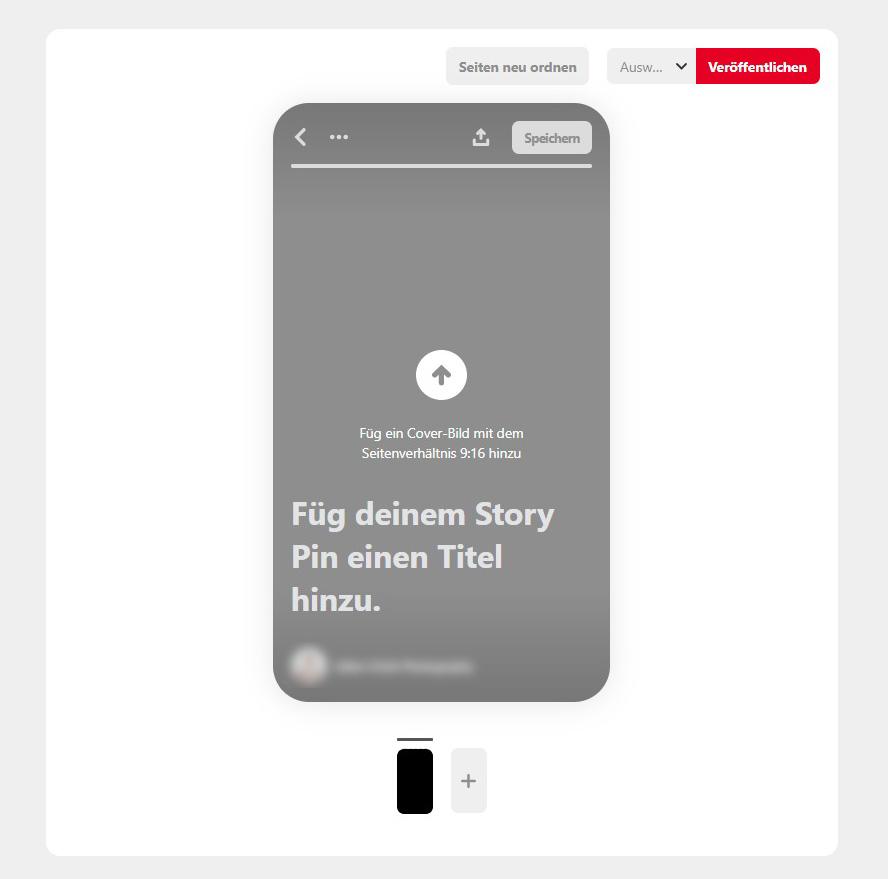 Story Pins erstellen