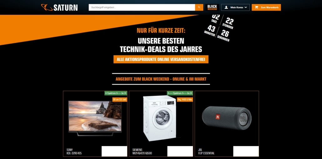 Black Friday bei Saturn