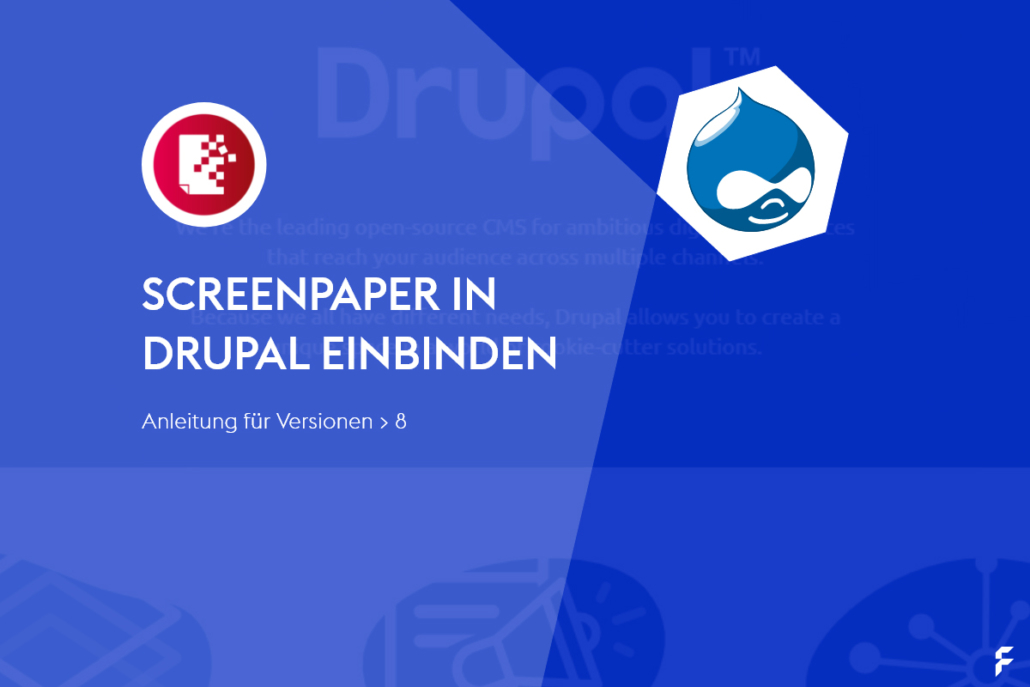 screenpaper in Drupal einbinden