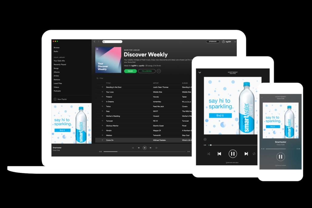 Audio-Ads auf Spotify schalten