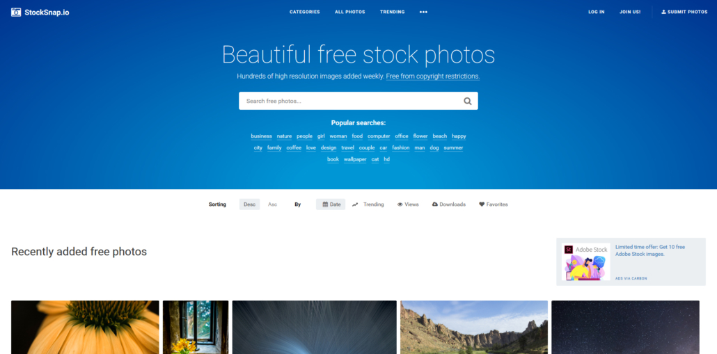 stocksnap.io stock photos