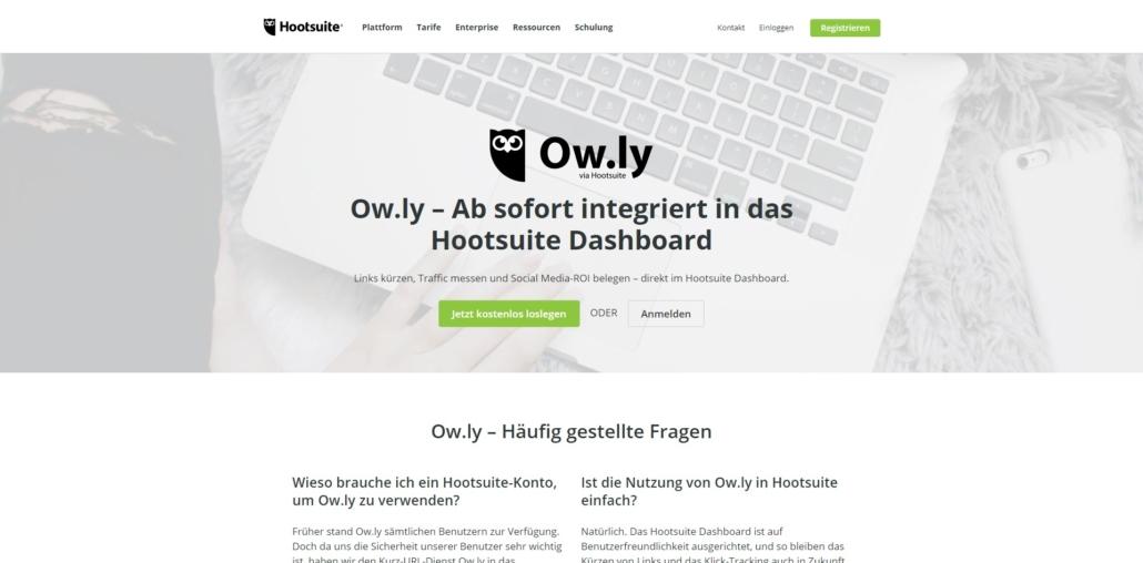 ow.ly URL Shortener Service
