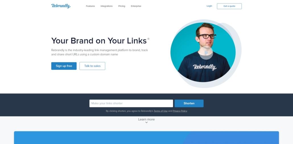 Rebrand.ly URL Kürzen