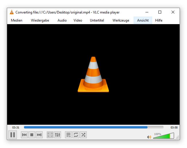 VLC Konvertierung