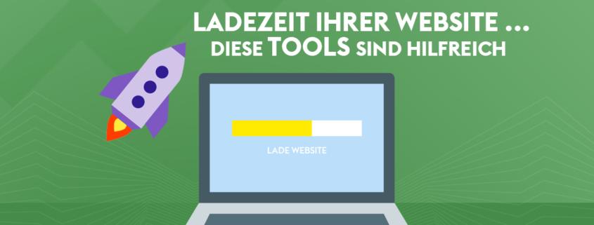 Ladezeit Ihrer Website testen